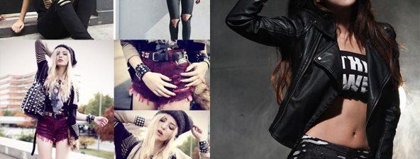 แฟชั่นชุดดำ เปลี่ยนลุคเปลี่ยนเทรนง่ายๆสไตล์ขา 'ร็อค